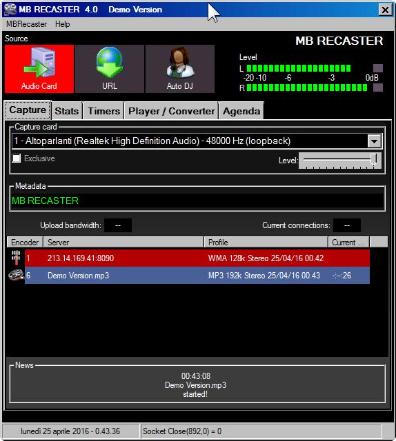 MB Recaster 4.0
