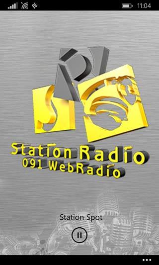 Widget Windows Phone - NewRadio