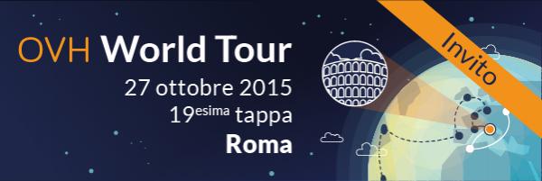 Newradio S.r.l. è testimonial dell' OVH World Tour